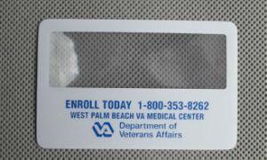 Biglietti da visita trasparenti della materia plastica acrilica o (HW-802)