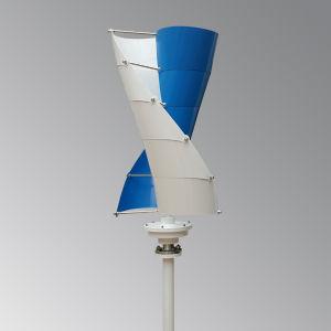 Piccolo generatore di turbina verticale del vento di 400W 12V/24V 400W Vawt per i lampioni