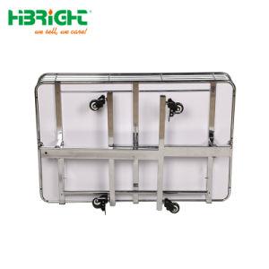 Supermarkt-faltende Förderung-Rahmen-Metallkarre mit Rad