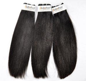 Brasilianisches gerades unverarbeitetes Jungfrau-Haar zu Großhandelspreis mit einer 21 Tagesrückerstattung