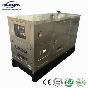 22kVA Cummins Powered Stainless Soundproof Diesel Generator Highly Customized