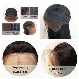 Parrucche piene dei capelli umani del merletto dell'onda del corpo & parrucche anteriori del merletto per le donne di colore