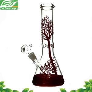 12inch fregano il narghilé di vetro del tubo di fumo di Baeker della base dell'albero della vernice per tabacco