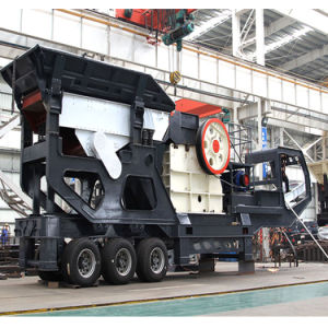 Pianta di schiacciamento di pietra di estrazione mineraria professionale di nuove tecnologie