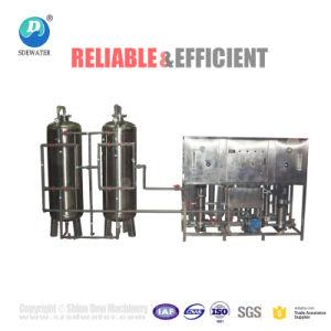 Acier inoxydable 5000 L/H SYSTÈME D'Usine de filtration de l'eau