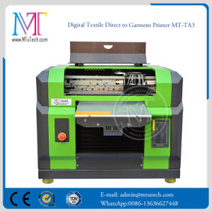 Stampante a base piatta della maglietta della stampatrice di 5 di colori A3 Digitahi di formato
