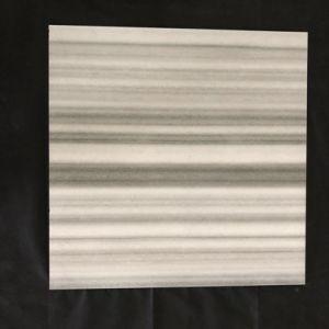 De grijze Witte Porselein Verglaasde Rustieke Tegels 60*60 van de Vloer