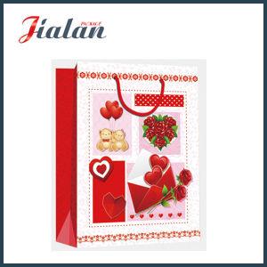 La Saint Valentin -  I Love You  Shopping Papier de cadeau sac à main
