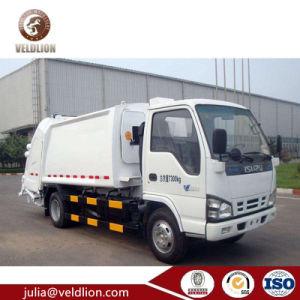 Camion giapponese del costipatore dell'immondizia di M3 5cbm 6m3 di marca 4 di rendimento elevato da vendere