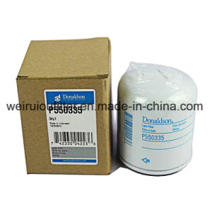 O elemento do filtro de óleo lubrificante do Filtro de Óleo do Motor Donaldson P550335