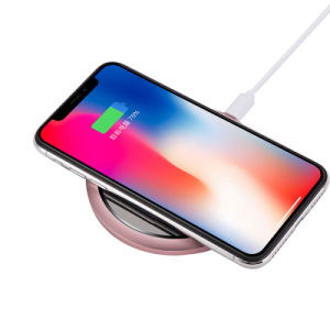 Soporte de carga inalámbrica Qi Wireless cargador rápido de llamada de teléfono compatible con iPhone X, el iPhone 8/8 Plus, Samsung Galaxy S9/S9+/S8/S8+/S7/Nota 8, y más