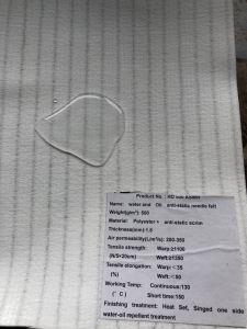 Nicht gesponnener wasserdichter statischer Antifilterstoff