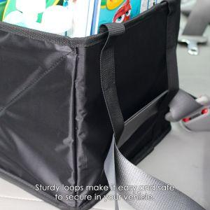 Asiento de coche organizador para asiento trasero o delantero