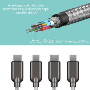 Tipo Braided di nylon C del USB 3.1 - cavo di C