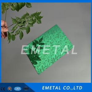 201 304 grabado en relieve la lámina de acero inoxidable estampado con el color para la construcción
