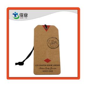 Recyclage de papier kraft brun Jeans étiquette du vêtement Commerce de gros