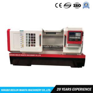 De gran calibre horizontal de metal de cama plana automático de corte CNC MÁQUINA CNC torno giratorio