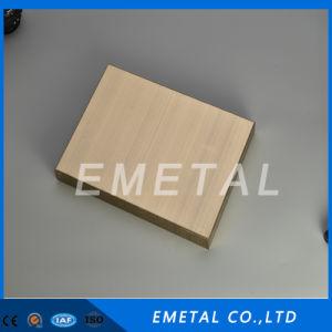 Laminados en frío Inox 304 201 430 316 Indicador de bronce decorativos de acero inoxidable acabado Hl hoja