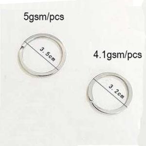 [أنتي-ور] 210 304 316 [ستينلسّ ستيل] [كي رينغ] [1.0مّ10مّ] إطار مستديرة حجم مختلفة