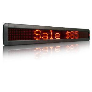 P7.62-7X80 дисплей со светодиодной подсветкой программирование светодиодный дисплей прокрутки