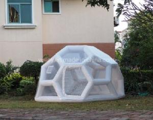 Nuit étoilée bulle dôme transparente football gonflable tente pour Outdoor Camping