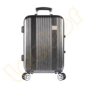 最新の方法上デザイン防水トロリーアルミニウムフレームの荷物のスーツケース