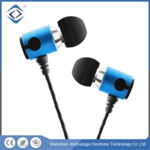 Telefone celular Noise-Cancelling 3,5mm dos auriculares auscultadores desportivos com fio