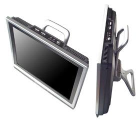 12V를 가진 이동할 수 있는 LCD 텔레비젼