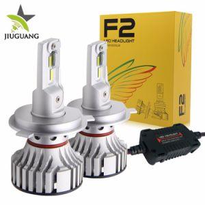 新しい高い発電8000lm H4 H7 H11 9005 9006 12V 24V F2自動車LEDのヘッドライトの球根H4