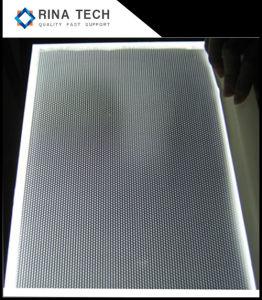 Fornitori acrilici personalizzati del piatto di guida chiara dello strato