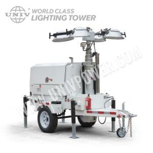 LED de 4x500W generador móvil portátil Torre de Luz (UD8LT)