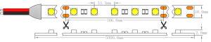 Indicatore luminoso di striscia flessibile approvato del Ce SMD 5050 30LEDs LED dell'UL