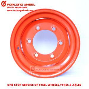 15.3inch 관이 없는 방안 장비 강철 바퀴