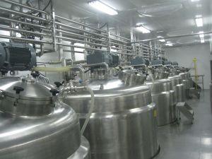 ステンレス鋼の高速乳状になる機械