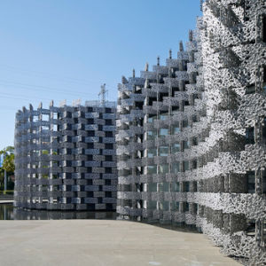 De Gordijngevel van het Aluminium van het Bouwmateriaal van het metaal