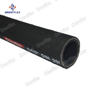 O fio de aço SAE trançada 100 R17 Mangueira de borracha hidráulico