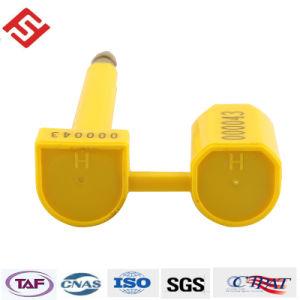 高い安全性の反タンパーのスナップのロックボルトのシール