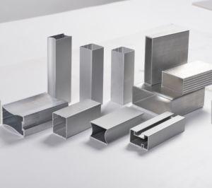 Profilo commerciale della finestra/portello di scivolamento del blocco per grafici della lega di alluminio