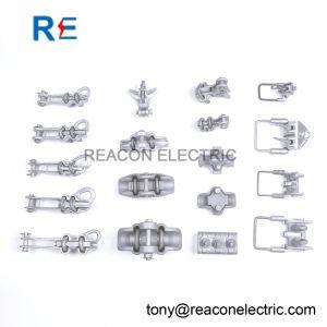 Aluminium Cuivre Stirrup collier de serrage pour la Pole du matériel de ligne