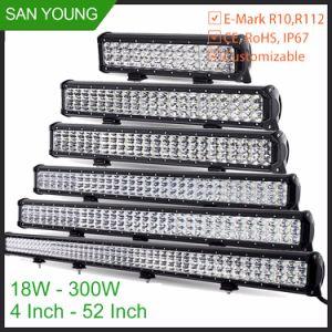 54W impermeabilizzano l'indicatore luminoso movente fuori strada della barra del CREE LED del Ute SUV 4WD della jeep ATV UTV della lampada dell'automobile del camion della barra chiara del LED