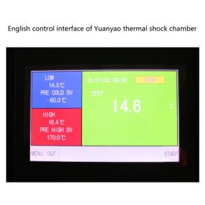 50 L Drie de Kamer van de Test van de Thermische Schok van de Temperatuur van Streken