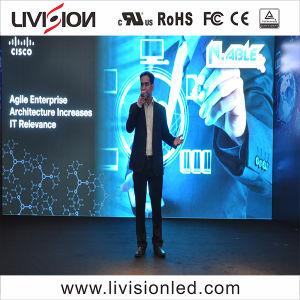 O LED de evento no interior do ecrã de vídeo P3.9/4,8 Display LED para conferência