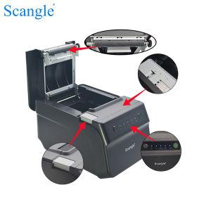 Высокая скорость 300 мм/сек. 80мм POS Термопринтер (USB+RS232+LAN) + WiFi + Bluetooth/Autocutter Epson