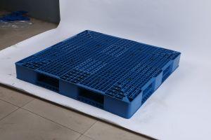 La doppia piattaforma rovesciabile ha affrontato i pallet di plastica di alta qualità con i lati per l'impilamento multiplo del magazzino