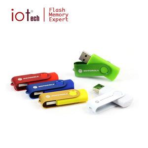 Рекламные материалы логотип поворотный USB Flash с подарочной коробки