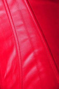Venta caliente Faux Leather formador de la cintura Sexy corsés
