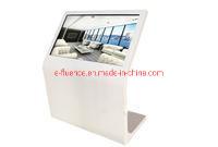 Reproductor de la publicidad de la pantalla táctil LCD de pantalla táctil quiosco con WiFi y Ethernet.