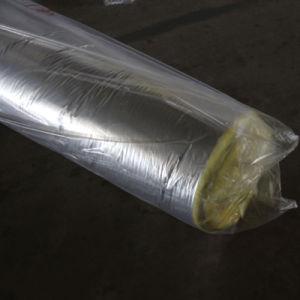 Isolamento della stuoia dell'ago delle lane della fibra di vetro con il di alluminio
