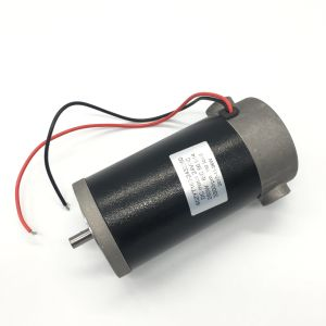 80mm 300W 12V 24V para la maquinaria de motor PMDC