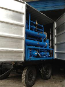 Totalmente móviles de alto vacío de tipo de aceite de transformador de la planta de purificación
